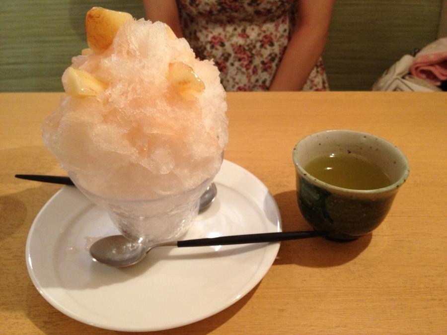 【食い道楽】夕焼けだんだんの坂の脇っちょにある茶遊亭さんで、天然氷のかき氷を食べてきました
