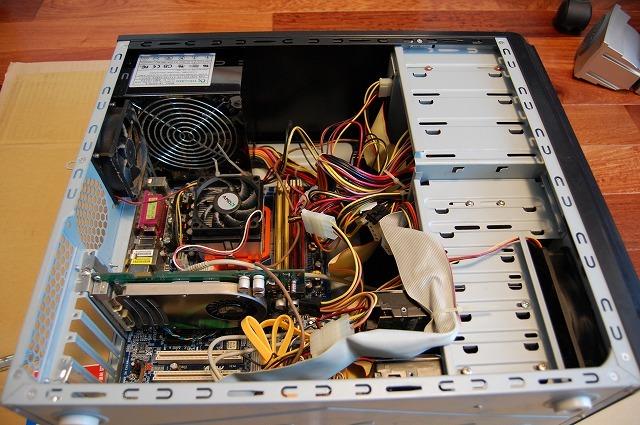 パソコンお手軽再構築