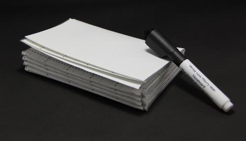 【レビュー】持ち歩けるホワイドボード「NoteBoard」で、デキル社会人スタイルを身につけよう!
