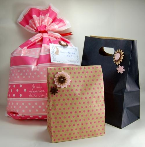 暇つぶし、雑貨店、プレゼント用ラッピング