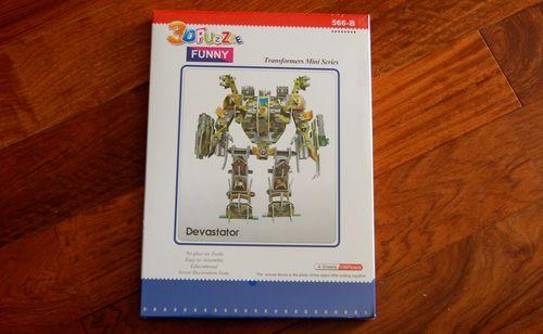 【レビュー】3Dペーパークラフトでロボットを作って遊んでみよう【前編】