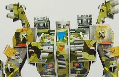 【レビュー】【中編】3Dペーパークラフトでロボットを作って遊んでみよう