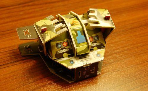 3Dペーパークラフト (9)