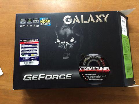 GALAXY GF P98GTX+ 512D3の箱