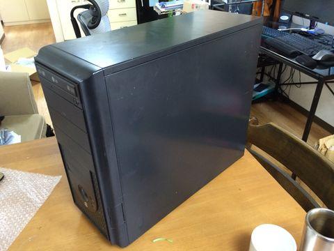 古いデスクトップマシン