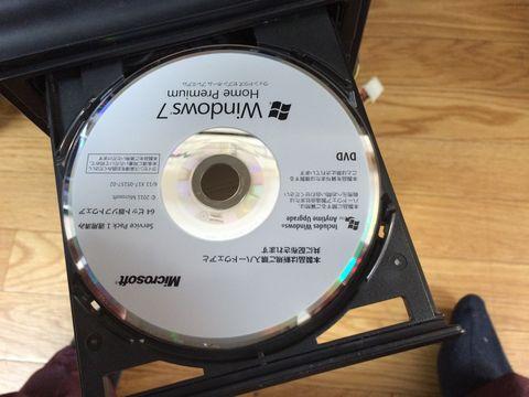 Windows7インストールディスク